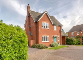 Thumbnail 4 bed detached house for sale in Ashcraft Close, Marston Moretaine, Bedford, Bedfordshire