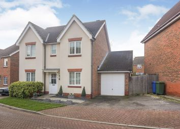 Thumbnail 4 bed detached house for sale in Poppy Crescent, Minster On Sea, Sheerness