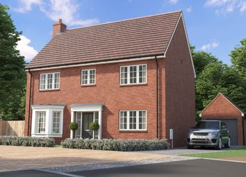 Thumbnail 5 bed detached house for sale in Willow Meadows, White Lane, Ash Green