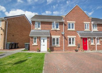 Thumbnail 3 bed end terrace house for sale in Arkless Grove, The Grove, Consett