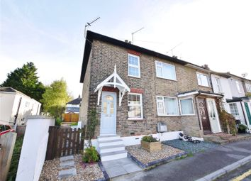 Thumbnail 2 bed end terrace house for sale in St. Peters Road, Warley, Brentwood, Essex