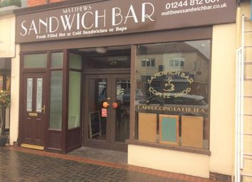 Thumbnail Restaurant/cafe to let in Station Road, Queensferry, Deeside