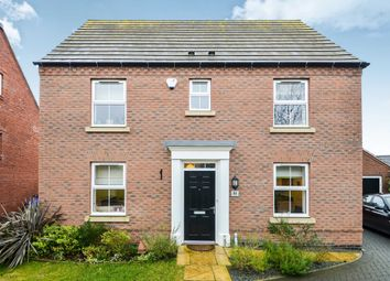 Thumbnail 3 bed detached house for sale in Fennel Close, Coton Park, Rugby