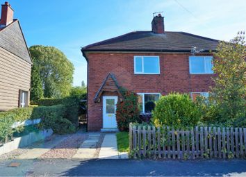 Thumbnail 3 bed semi-detached house for sale in West End Avenue, York