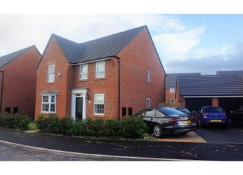 Thumbnail 4 bed detached house for sale in Thorneycroft Way, Crewe