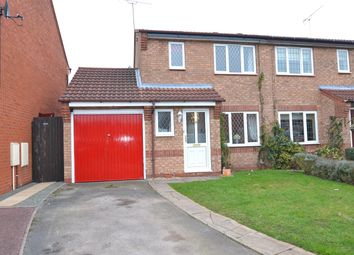 Thumbnail 3 bed semi-detached house for sale in Repton Close, Stafford