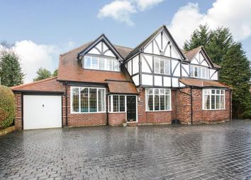 Thumbnail 5 bed detached house for sale in Southern Crescent, Bramhall, Stockport, Cheshire