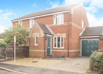Thumbnail 2 bed semi-detached house for sale in Weedon Way, King's Lynn