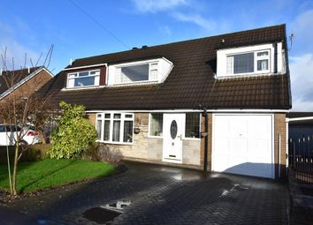 Thumbnail 4 bed semi-detached house for sale in Tiverton Avenue, Leigh