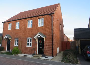 Thumbnail 2 bed semi-detached house for sale in Biffin Way, Swaffham