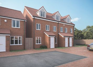Thumbnail 3 bedroom terraced house for sale in Plots 18-20 & 23-25 Coverdale, Polperro Close, Paignton, Decon