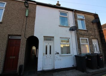 Thumbnail 2 bed end terrace house to rent in Granville Road, Lowestoft