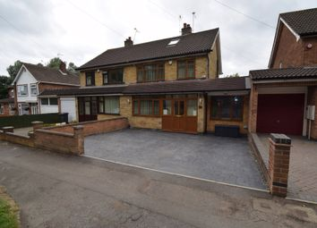 Thumbnail 4 bed semi-detached house for sale in Hamilton Lane, Scraptoft, Leicester