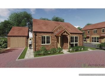 Thumbnail 2 bed detached bungalow for sale in Laughton Road, Blyton, Gainsborough
