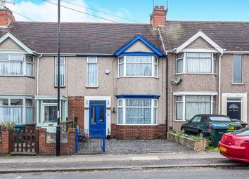 Thumbnail 3 bed terraced house for sale in Fraser Road, Coventry