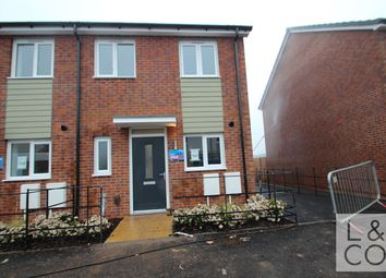 Thumbnail 2 bed semi-detached house to rent in Glan Llyn, Llanwern, Newport
