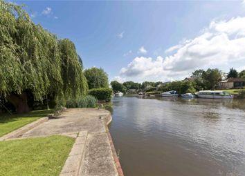 Thumbnail 6 bed detached house for sale in Hamm Court, Weybridge, Surrey