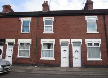 Thumbnail 2 bed terraced house for sale in Albany Road, Hartshill, Stoke-On-Trent