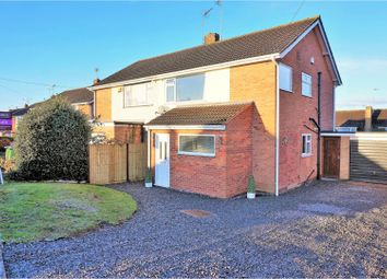 Thumbnail 3 bedroom semi-detached house for sale in Chestnut Road, Leicester