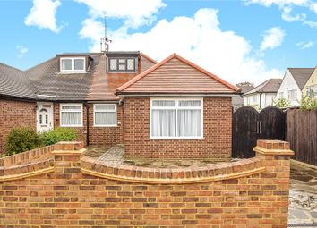 Thumbnail 2 bed semi-detached bungalow for sale in Crossway, South Ruislip, Middlesex