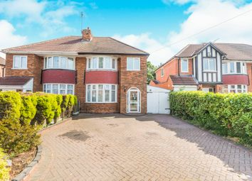 Thumbnail 3 bed semi-detached house for sale in Thurlston Avenue, Solihull