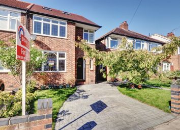 Thumbnail 3 bed semi-detached house for sale in Hodder Drive, Perivale, Greenford
