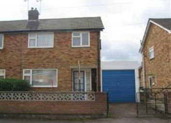 Thumbnail 3 bed semi-detached house to rent in Chaucer Street, Narborough, Leicester