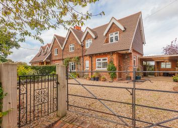 Thumbnail 3 bed semi-detached house for sale in Leigh, Reigate, Surrey