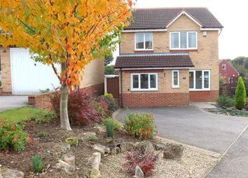 Thumbnail 3 bed detached house for sale in Greenside Close, Clowne, Chesterfield