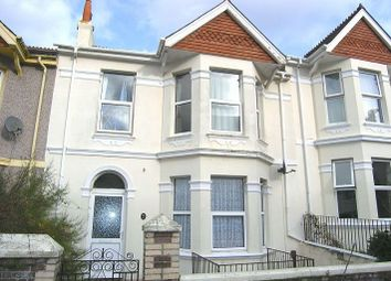 Thumbnail 1 bed flat to rent in Ground Floor Flat, Salcombe Road, Lipson, Plymouth