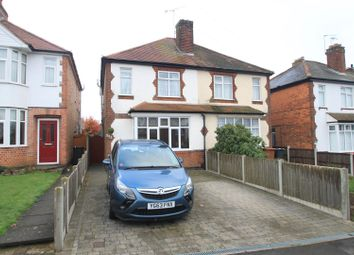 Thumbnail 3 bed semi-detached house for sale in Sketchley Road, Burbage, Hinckley