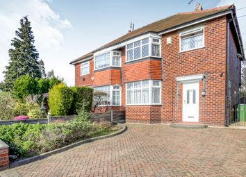 Thumbnail 3 bed semi-detached house for sale in Didsbury Road, Stockport, Cheshire