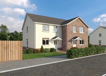 Thumbnail 3 bed semi-detached house for sale in Glanfryn Court, Heol Cwmmawr, Drefach, Nr Cross Hands