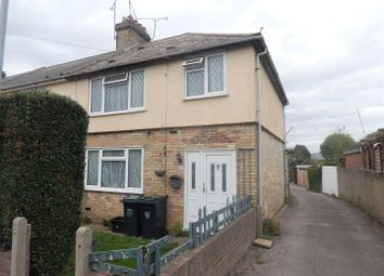 Thumbnail 3 bed semi-detached house to rent in Broad Road, Swanscombe