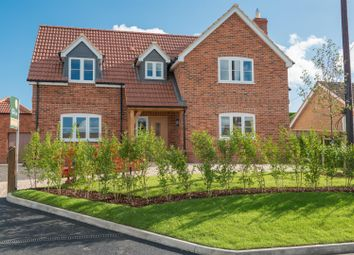Thumbnail 4 bed detached house for sale in Bradenstoke, Chippenham