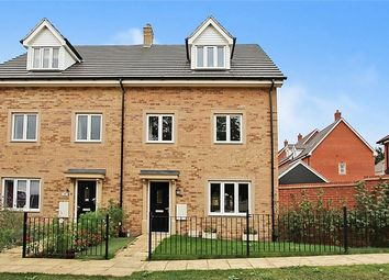 Thumbnail 4 bedroom semi-detached house for sale in Chamberlain Way, New Cardington, Bedfordshire