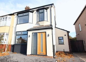 Thumbnail 4 bed semi-detached house for sale in Desford Road, Aigburth, Liverpool