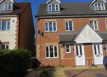 Thumbnail 3 bed property to rent in Elgar Way, Stamford