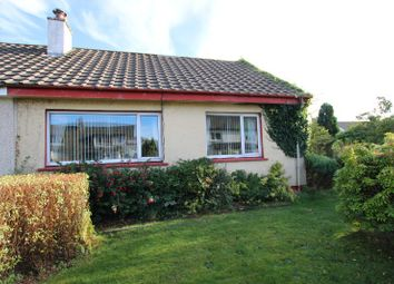 Thumbnail 2 bed semi-detached bungalow for sale in 22 Lochnell Road, Dunbeg