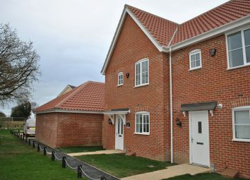 Thumbnail 3 bedroom end terrace house to rent in Minnow Way, Mulbarton, Norwich