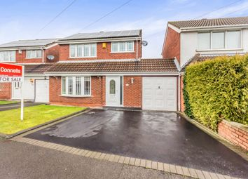 Thumbnail 3 bedroom link-detached house for sale in Sparrow Close, Wednesbury