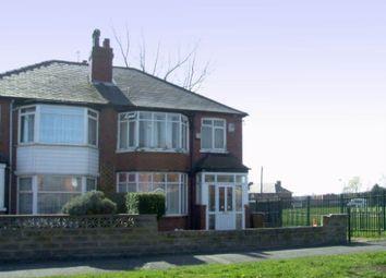 Thumbnail 3 bed semi-detached house to rent in Oakwood Lane, Gipton, Leeds