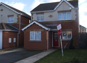Thumbnail 3 bed detached house to rent in Castle Avenue, Rossington, Doncaster DN110Ff