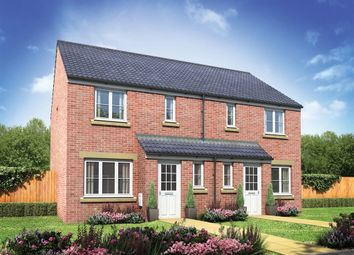 "Thumbnail 3 bed semi-detached house for sale in ""The Hanbury"" at Bath Road, Shurnold, Melksham"