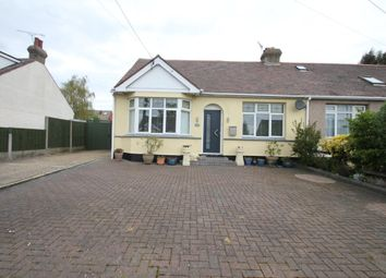 Thumbnail 2 bed semi-detached bungalow for sale in Canewdon View Road, Ashingdon, Rochford