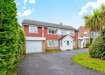 Thumbnail 4 bed detached house for sale in Salisbury Close, Worcester Park
