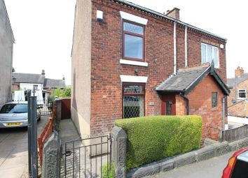 Thumbnail 2 bed semi-detached house for sale in John Street, Biddulph, Staffordshire