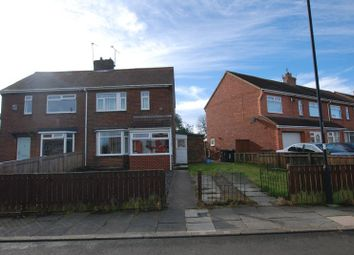 Thumbnail 2 bed semi-detached house for sale in Taylor Avenue, Wideopen, Newcastle Upon Tyne