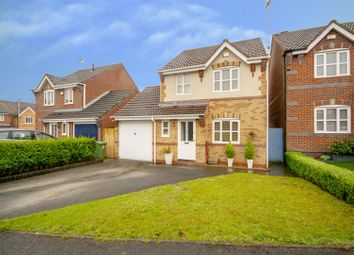 Thumbnail 3 bed detached house for sale in Claremont Close, Mansfield Woodhouse, Mansfield