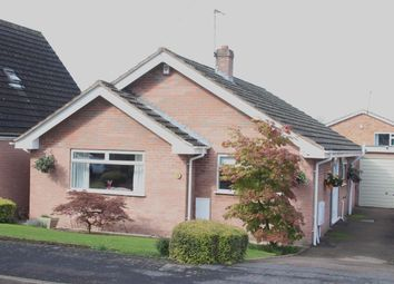 Thumbnail 2 bed detached bungalow for sale in Merrifield Gardens, Burbage, Hinckley